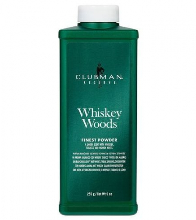 Whiskey Woods Powder Тальк универсальный с запахом виски, 255 г